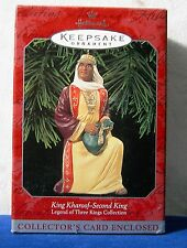 1998 Hallmark King Kharoof The Second King Legend Of The Three Kings Collection