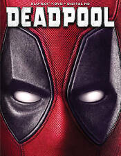 Deadpool (Blu-ray/DVD, 2016, 2-Disc Set, No Digital Copy Available)
