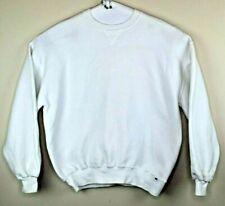 Vintage Russell Athletic Sweatshirt Blank White Men's XL  USA