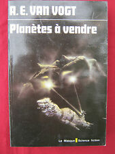 PLANETES A VENDRE - A.E VAN VOGT - Le masque science fiction - n° 71 - 1978