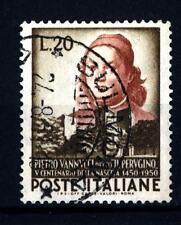 """ITALIA REP. - 1951 - 500° della nascita di Pietro Vannucci detto """"il Perugino"""""""
