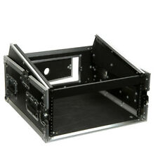 "Mixer Rack Case 10x4 19"" Units Mobile DJ Disco Equipment Protective Travel Case"