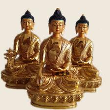 Bronze dragon buddha Divinity Statue Bhaisajya Sakyamuni Amitabha Buddhism