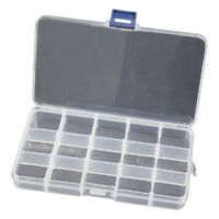 Guitar Pick Jewelry Fishing bait Case Storage Box Container 15 Grid L1B5
