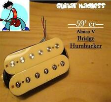 G.M. 59'er Alnico 5 Cream Humbucker Bridge (52mm) (4-wire) for Gibson Epiphone®