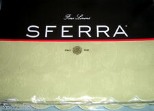 Sferra Alice Twin Bed Skirt Willow Green Egyptian Cotton Scalloped Edge New