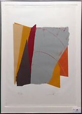 """LARRY ZOX """"RED LINE II"""" 1979 