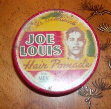 Joe Louis Hair Pomade - Rare!