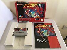 Super Metroid Super Nintendo SNES jeu big box complet PAL ~ pics