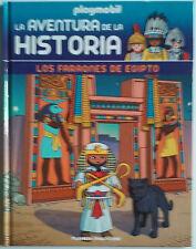 Faraones Egipto Libro nº 5 de la coleccion, Playmobil La Aventura de la Historia