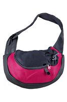 P716 Pet Dog Cat Puppy Carry Travel Tote Shoulder Bag Purse Sling Backpack rose