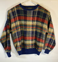 Vtg 90s Coogi Style Sweater Vintage Croft And Barrow Mens Large Cosby Biggie
