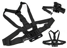 Head Strap Mount + Chest Harness Strap Belt For GoPro HD Hero 3+ 3 2 4 5 Camera