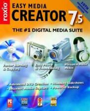 Roxio Easy Media Creator 7.5 PC CD digital image photo picture & video editing