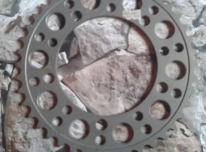 CORONA RENTHAL ULTRA LIGERA GSXR750 K1-K3 / TRIUMPH