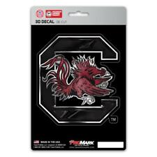 South Carolina Gamecocks Die Cut 3D Logo Decal [NEW] Car Sticker Emblem Truck