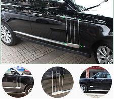 For Range Rover Vogue L405 Black Door Side Fender Vent Grille Cover Molding Trim