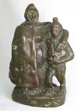 Bronze Schneeballwerfer ~ 1920 Figur / Skulptur / Plastik – Barth Berlin