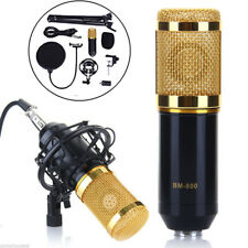 Modern BM-800 Studio Audio Sound Condenser Microphone Mic Kit+ Shock Mount/ USB