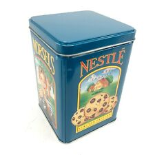 Nestle Toll House Cookies Limited Edition Collector Tin Canister Vintage Green