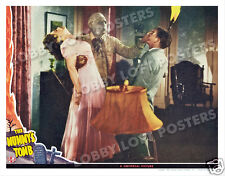 THE MUMMY'S TOMB LOBBY SCENE CARD # 3 POSTER 1942 LON CHANEY JR.  ELYSE KNOX