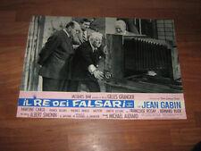 IL RE DEI FALSARI GRANGIER BLIER ,J.GABIN,,FOTOBUSTA
