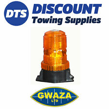 Amber LED Beacon Compact to suit Forklift 12/24V Diameter - 61mm Height - 131mm