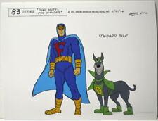 Hanna Barbera STYLE GUIDE PLATE / PRINT - BLUE FALCON & DYNO MUTT