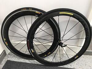 Mavic Cosmic Carbone CXR 60mm Rear Wheel & Mavic Cosmic Carbone 40mm Front Wheel