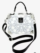 Loungefly The Nightmare Before Christmas Snowflake Trunk Crossbody Bag New