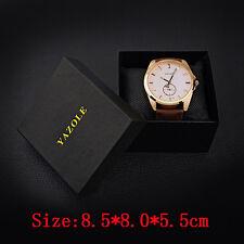 Yazole Watch Box gift Paper Rectangle High-Grade Quartz Watches Packing Box