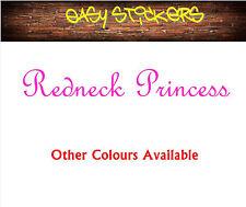 580mm PINK Redneck Princess Car Truck Bike Ute Funny Girl BnS Sticker Window