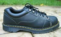 Dr Martens Mellows Black Leather Air Wair Work Boot Shoes Mens 14 M EUC