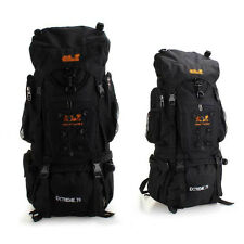 70L Wasserdicht Trekkingrucksack Outdoor Rucksack Klettern Backpack Regen Abdeck
