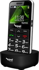 Big Button Seniors Opel Mobile Phone SOS w Charging Cradle NEW (3G UNLOCKED) AU