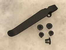 TITANIO profundo llevar Clip de bolsillo hecha para Spyderco párrafo 3 cuchillo