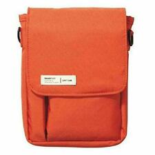 LIHIT LAB Smartphone Small Pouch Case Bag A6 size 130mm A7574-4 Orange japan