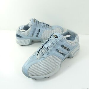 adidas climacool golf shoes Women's 021393 Light Blue and White US Size 8.5