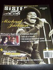 Sister 2 Sister magazine - Michael Jackson tribute - 9/2009 Excellent Condition