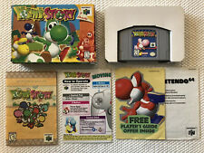 Yoshi's Story ( Nintendo 64 ) N64 , Complete in Box • Authentic •