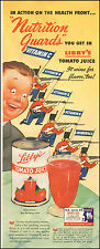 1943 Vintage ad for Libby's Tomato Juice Art Soldiers  (021317)