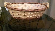 PAIR SET 2x Wicker Baskets- Hamper Baskets - Gift Basket - Easter Basket