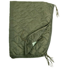 US Army Poncho Liner Quilted Travel Car GI Blanket Sleeping Bag Ripstop OD Olive