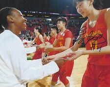 Han Xu Signed 8 x 10 photo Wnba Basketball Ny New York Liberty Free Ship China