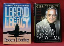 Legend and Legacy, Boeing Story, 1st Ed.; How to Argue and Win Every Time, (2)