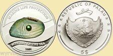 PALAU 2012 Pearl Green Mystery of the sea UNC CoA