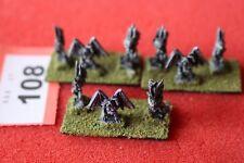 Games Workshop Warmaster elfos oscuros Harpies harpía caos Pintado Metal 10 mm fuera de imprenta