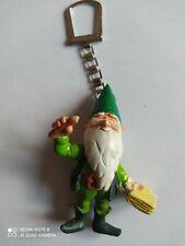Gros Porte-clés Figurine NAIN DE JARDIN Lutin keychain Vintage 80'