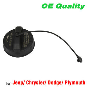 NEW Fuel Tank Gas Cap with Tether for Jeep Chrysler Dodge Plymouth 52030377AB