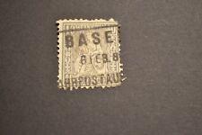 SUISSE 1862 40 centimes GRIS oblitéré 2 cote +++